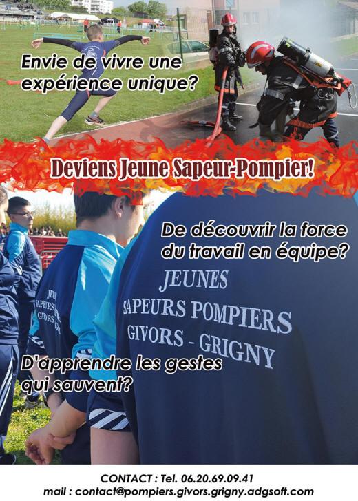 Devenir Un Jeunes Sapeurs Pompiers De Givors Grigny Dans Le